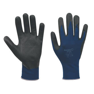 Nitrile Rubber Unlined Gloves 380